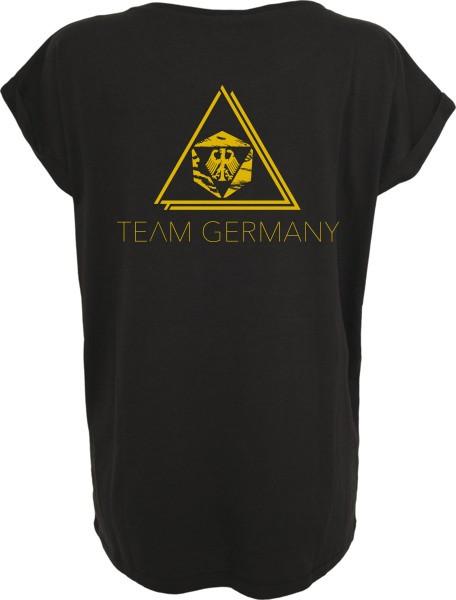 """""""TEAM GERMANY"""" Ladies Extended Shoulder Tee"""