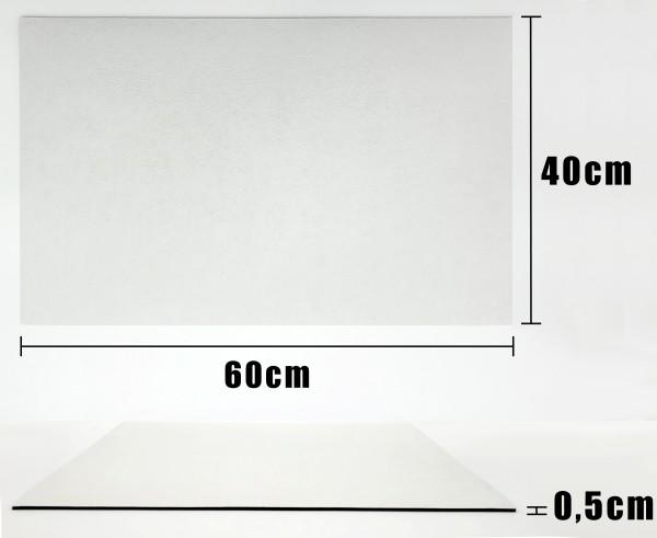 Eine Fußmatte wie ich sie mir Wünsche - 60cm x 40cm x 0,5cm mit Aufdruck