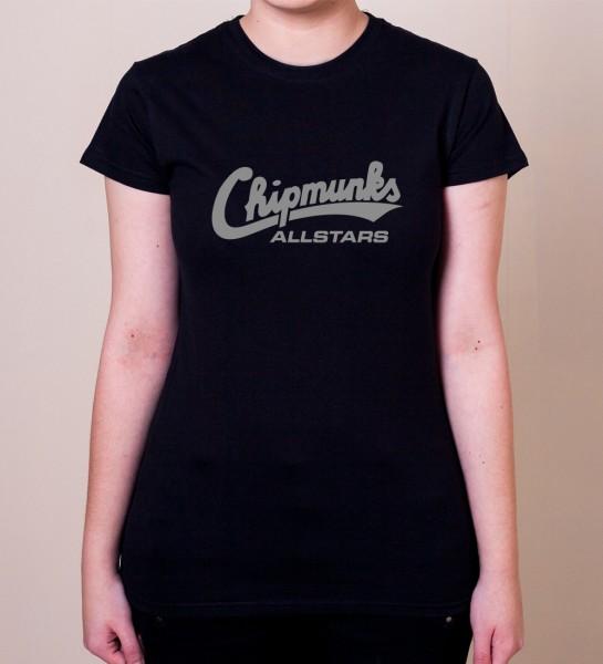 """20 Years of Chipmunks"" Damen T-Shirt"