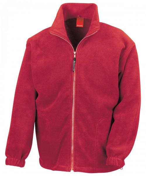 MENSA Fleece Jacke mit Aufnäher