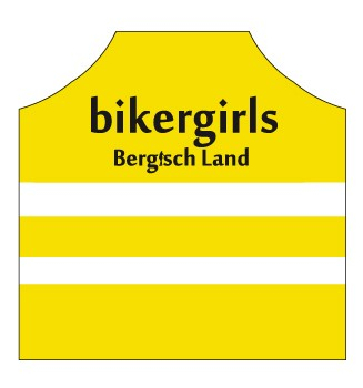 Bikergirls Damen/Herren/Kids Warnweste