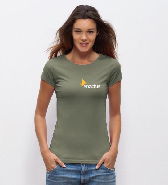 """enactus"" Damen T-Shirt"