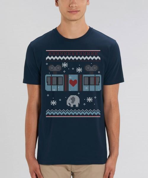 "Herren T-Shirt ""Schneebebahn"""