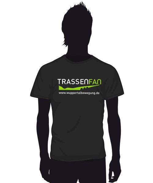 """""""Trassenfan"""" Herren T-Shirt"""