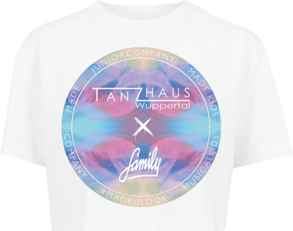 """""""TANZHAUS X FAMILY COLORFUL"""" Ladies Short Oversized Tee"""