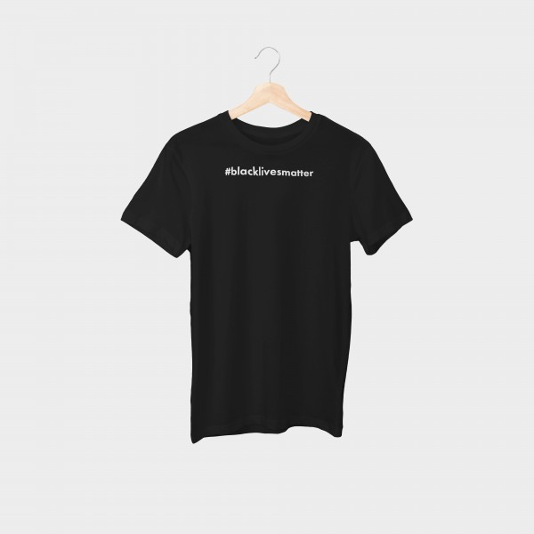 """#blacklivesmatter"" Unisex Organic T-Shirt"