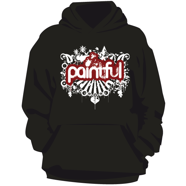 Paintful Girls Hoodie