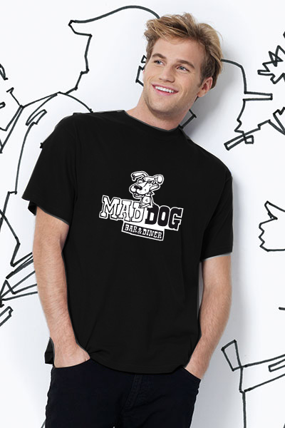 Mad Dog T-Shirt Herren