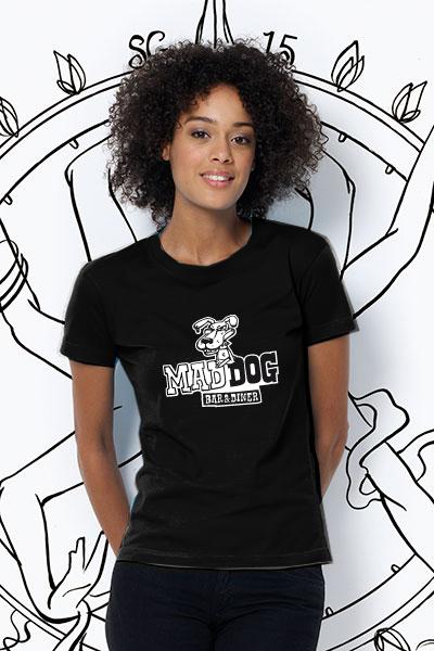 Mad Dog T-Shirt Damen