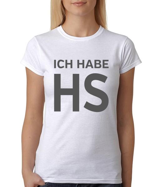 """""""Ich kann auch anders"""" Damen T-Shirt"""