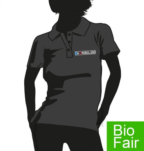 """""""E-Mobil"""" Bio Fair Damen Polo Hemd"""