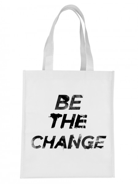 """Be The Change"" Jutebeutel"