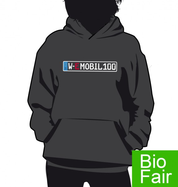 """""""E-Mobil"""" Bio Fair Damen Hoodie"""