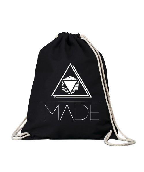 """""""Made Dreieck"""" Turnbeutel"""