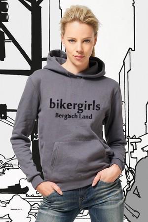 I Love Bikergirls Kapuzenpullover