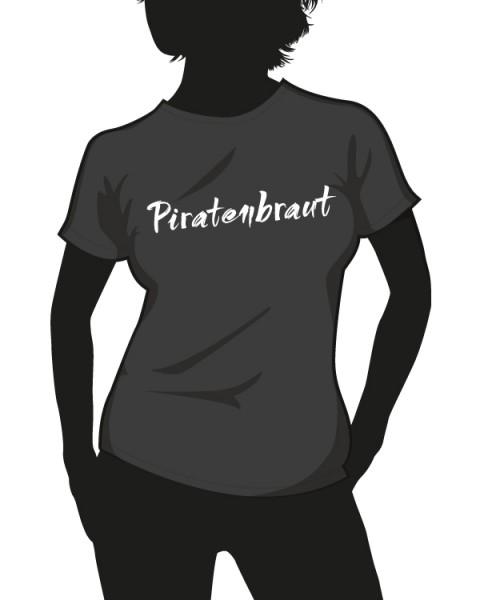 """""""Piratenbraut"""" Damen T-Shirt"""