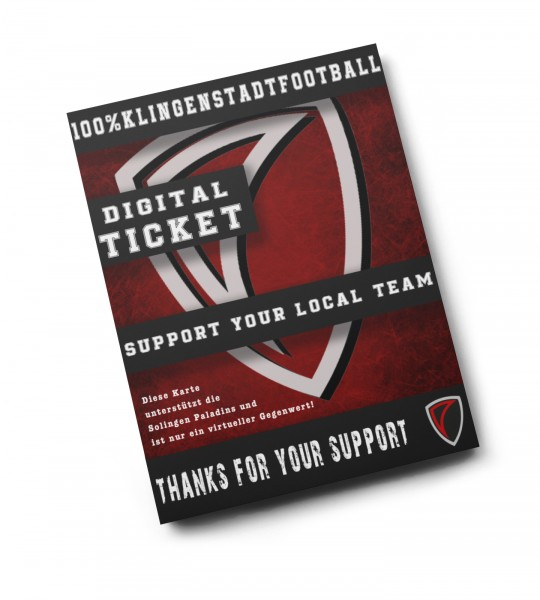 DIGITAL TICKET - 100% Klingenstadtfootball