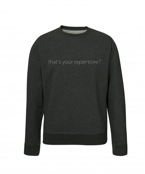 """""""REPERTOIRE"""" Unisex Pullover"""
