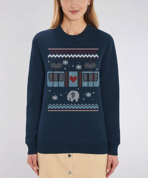 "Damen Sweatshirt ""Schneebebahn"""