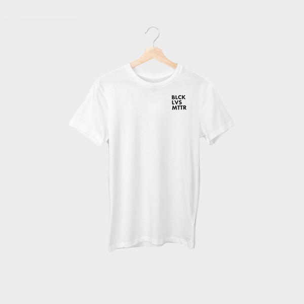 """blcklvsmttr Brustprint"" Unisex Organic T-Shirt"