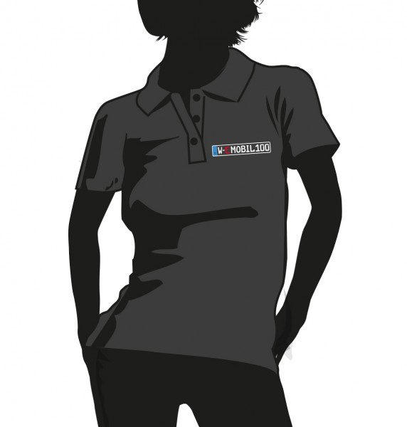 """""""E-Mobil"""" Standart Damen Polo Hemd"""