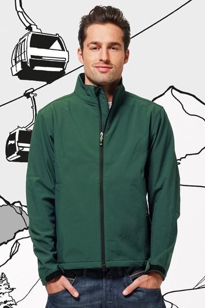 Hooded Softshell Jacket Men