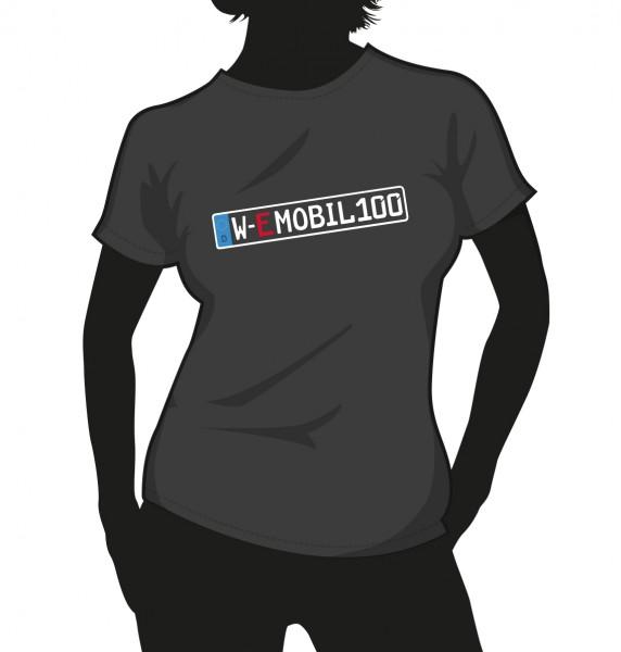 """""""E-Mobil"""" Standart Damen Shirt"""