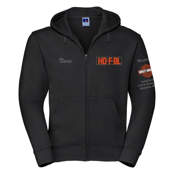 HDFBL Zip-Jacke