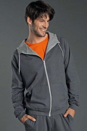 Tagless Hooded Sweatjacket Sports