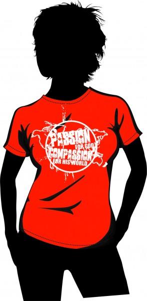 """""""Get Connected"""" Damen T-Shirt"""