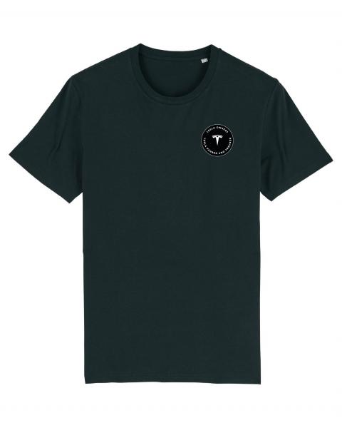 Bio-T-Shirt mit Web Aufnäher