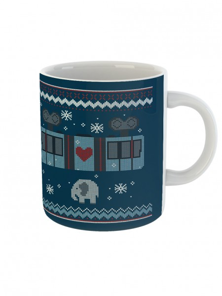 "Kaffeetasse ""Schneebebahn"""