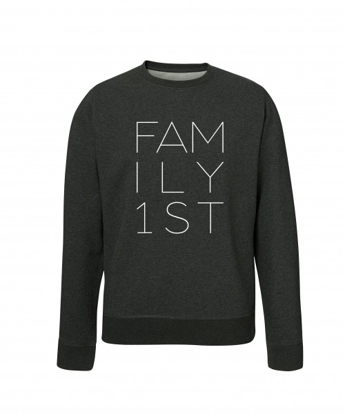 """FAMILY FIRST"" Unisex Pullover"