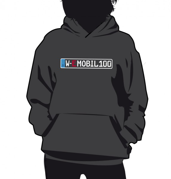 """E-Mobil"" Standart Damen Hoodie"